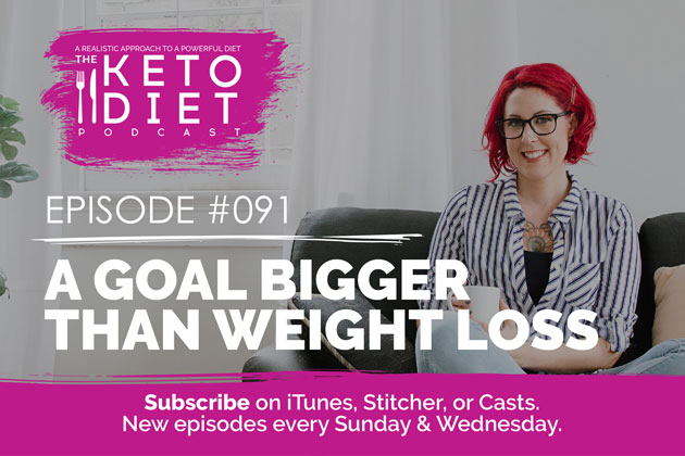 A Goal Bigger Than Weight Loss #healthfulpursuit #fatfueled #lowcarb #keto #ketogenic #lowcarbpaleo #theketodiet