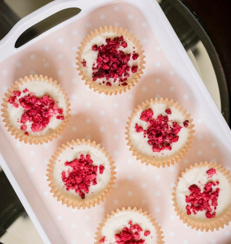 Raspberry White Chocolate Fat Bombs