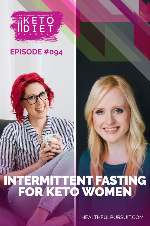 Intermittent Fasting for Keto Women #healthfulpursuit #fatfueled #lowcarb #keto #ketogenic #lowcarbpaleo #theketodiet