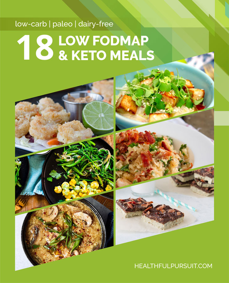 18 Low FODMAP & Keto Meals #keto #lowcarb #highfat #theketodiet