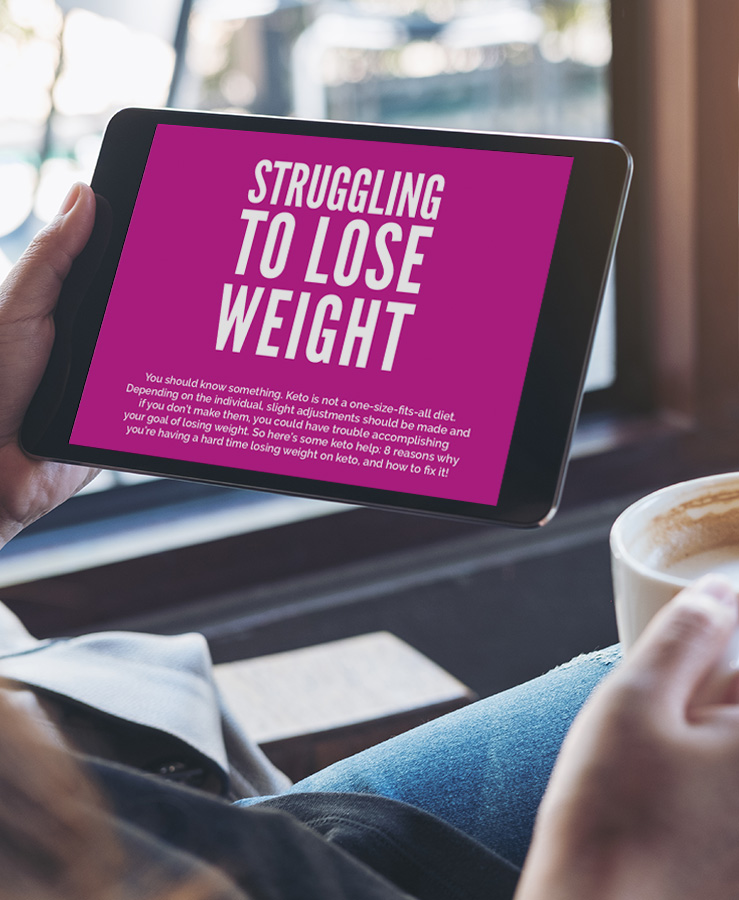 Struggling to lose weight?
