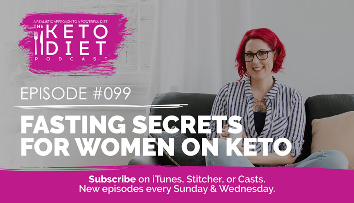Fasting Secrets for Women on Keto #healthfulpursuit #fatfueled #lowcarb #keto #ketogenic #lowcarbpaleo #theketodiet