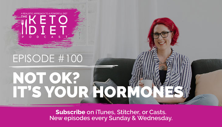 Not OK? It's Your Hormones #healthfulpursuit #fatfueled #lowcarb #keto #ketogenic #lowcarbpaleo #theketodiet