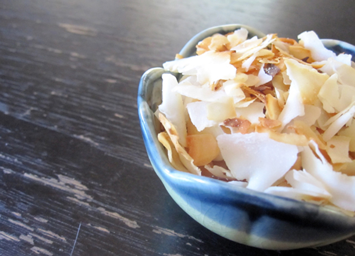Caramelized Coconut Chips