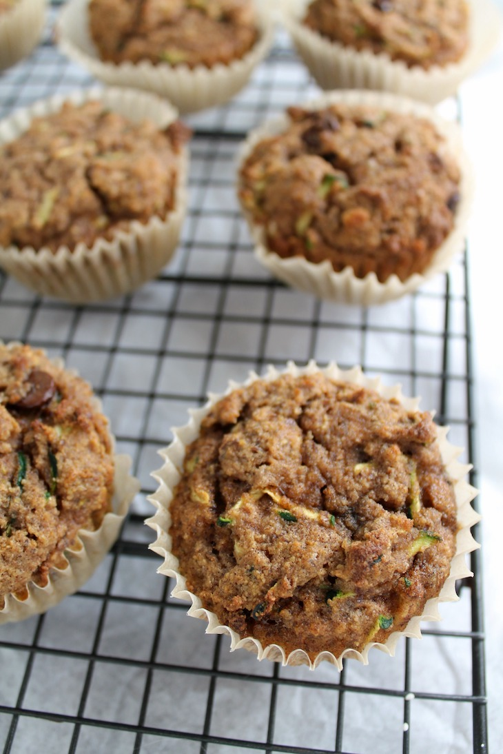 Chocolate Chip Zucchini Bread Or Muffins
