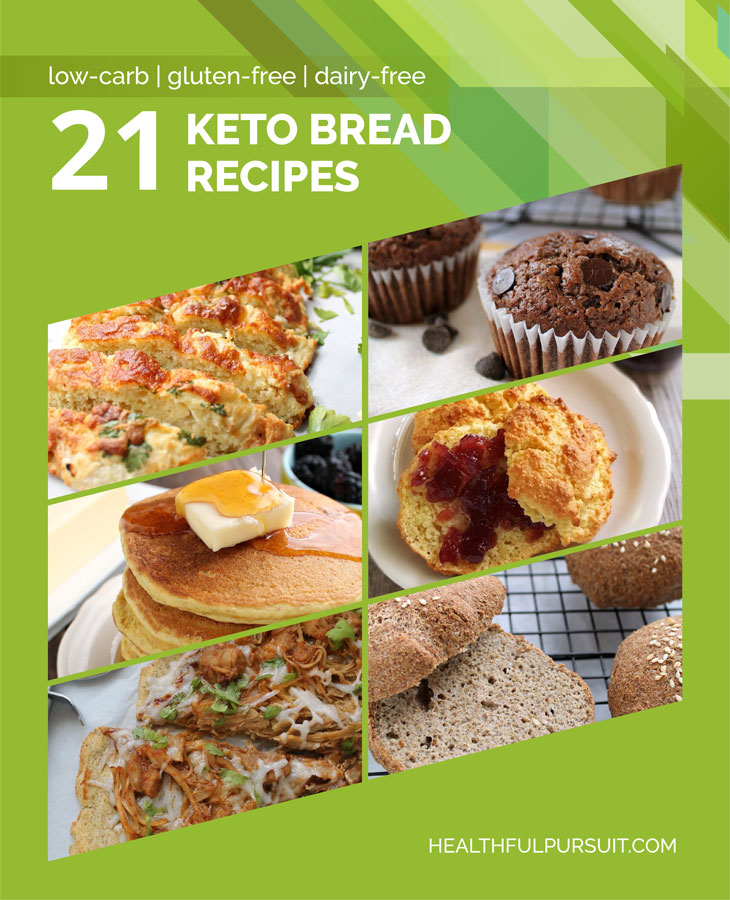 21 Keto Bread Recipes #keto #lowcarb #highfat #theketodiet