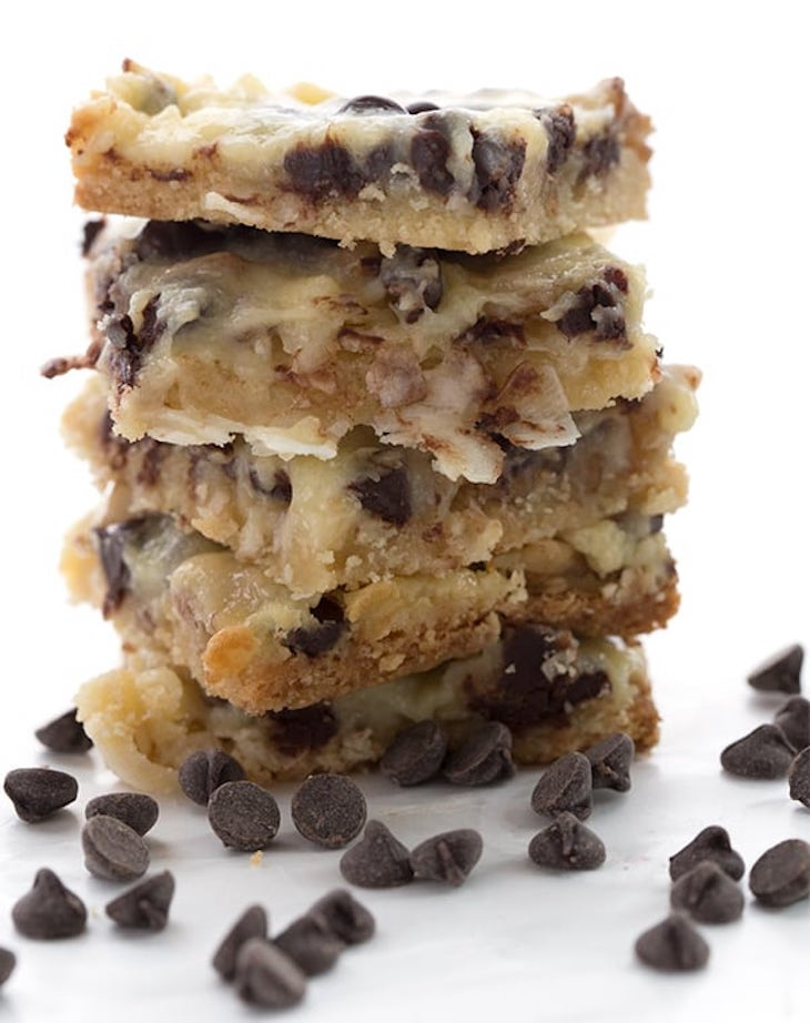 Low Carb Magic Cookie Bars