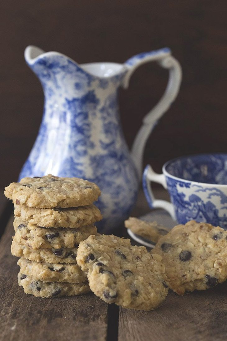 """Oatmeal"" Chocolate Chip Cookies"
