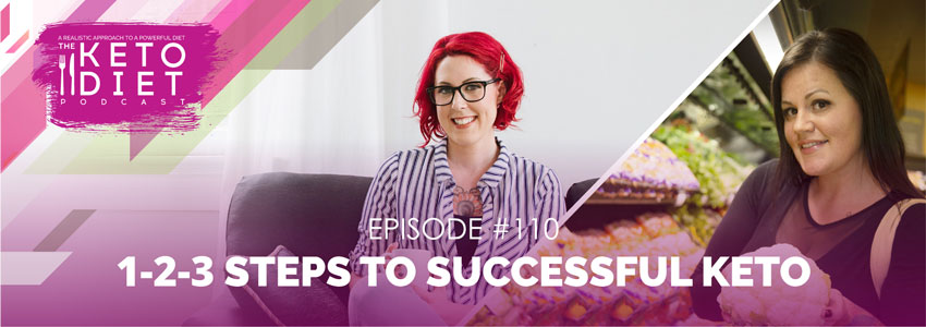1-2-3 Steps to Successful Keto