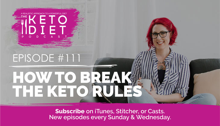How to Break the Keto Rules #healthfulpursuit #fatfueled #lowcarb #keto #ketogenic #lowcarbpaleo #theketodiet