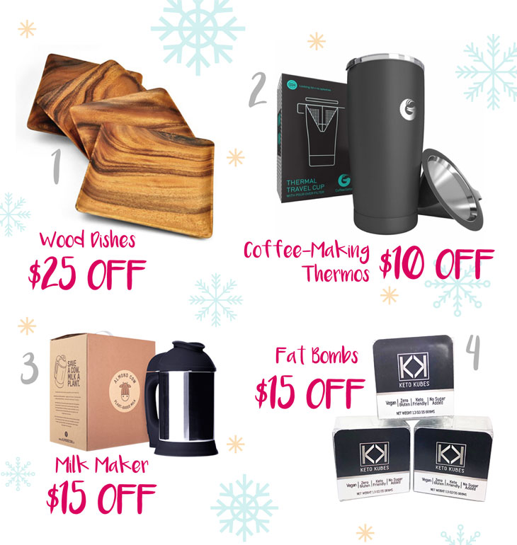 My Must-Have Keto Holiday Gift Guide #theketodiet #ketochristmas #ketogift #ketogiftguide
