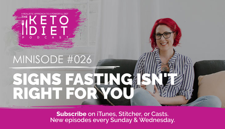 Signs Fasting Isn't Right for You #healthfulpursuit #fatfueled #lowcarb #keto #ketogenic #lowcarbpaleo #theketodiet