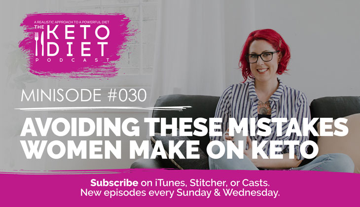 Avoiding These Mistakes Women Make on Keto #ketomistakes #ketoproblems #ketogenicdietmistakes #ketotroubleshooting