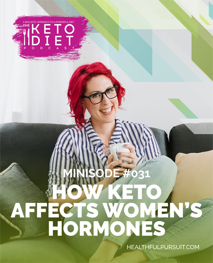 How Keto Affects Women's Hormones #hormones #ketoforwomen #hormonesonketo #PCOS #thyroid