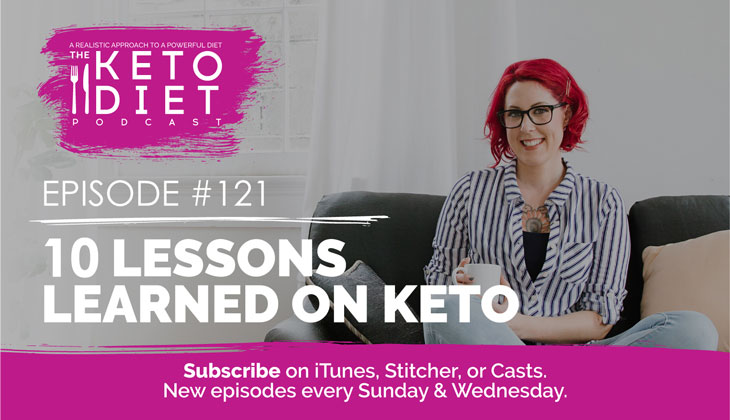 10 Lessons Learned on Keto #ketotips #ketostruggles #ketobalance #ketoworkout #ketosnack