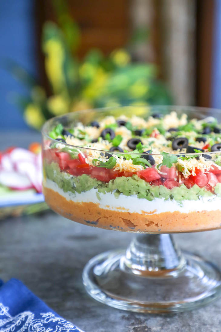 Keto Mexican 7 Layer Dip