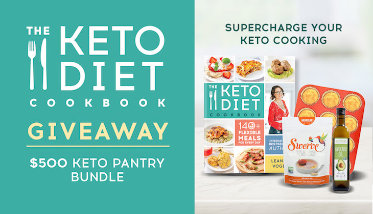 Keto Diet Cookbook Giveaway