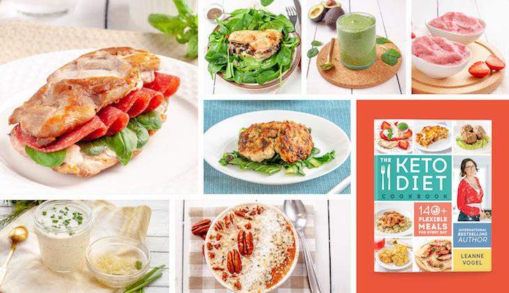 The Keto Diet Cookbook coming April 9 2019