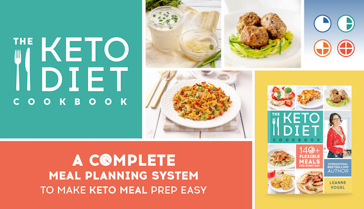 The Keto Diet Cookbook coming April 9 2019