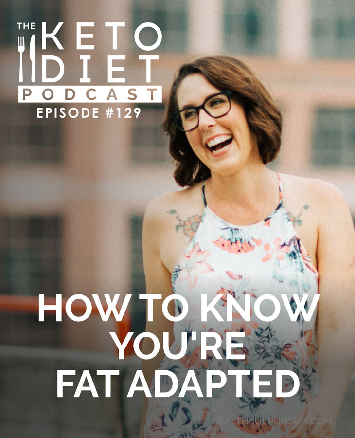 How to Know You're Fat Adapted #ketosis #fatfueled #fatadapted #fatburner