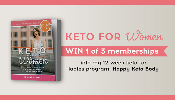 keto for women giveaway