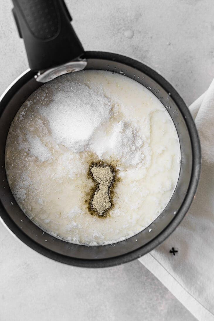 Keto Cardamom Porridge