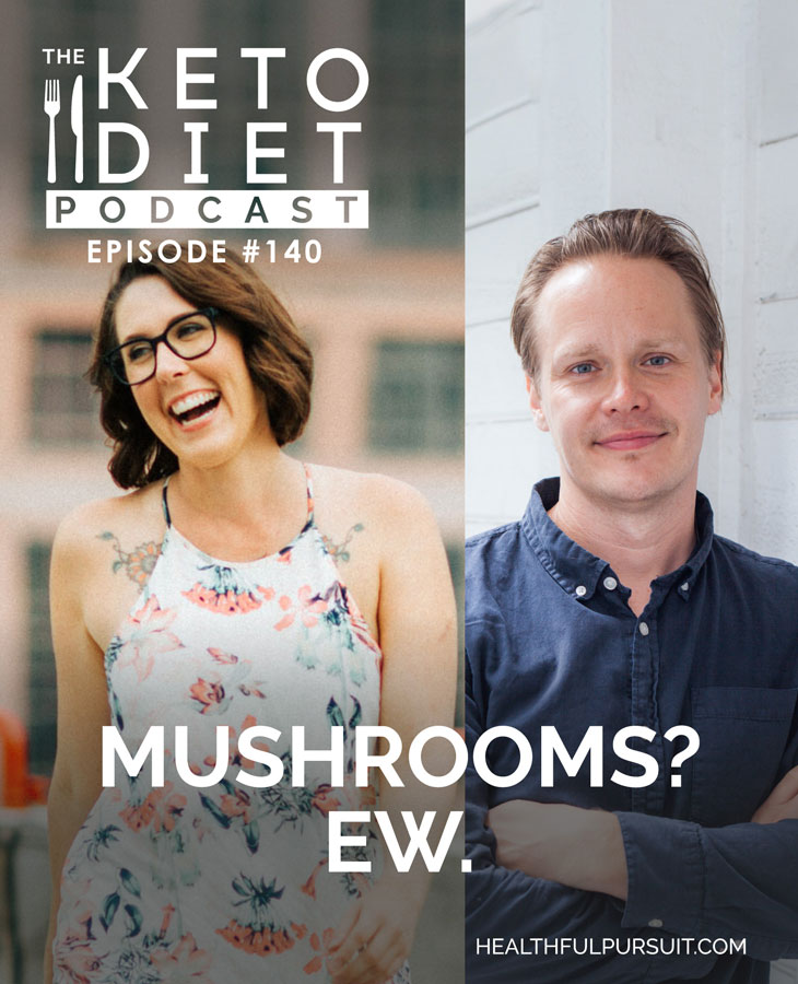 Mushrooms? Ew. #mushrooms #keto #supplements #chaga #lionsmane #cordyceps #reishi #superfood