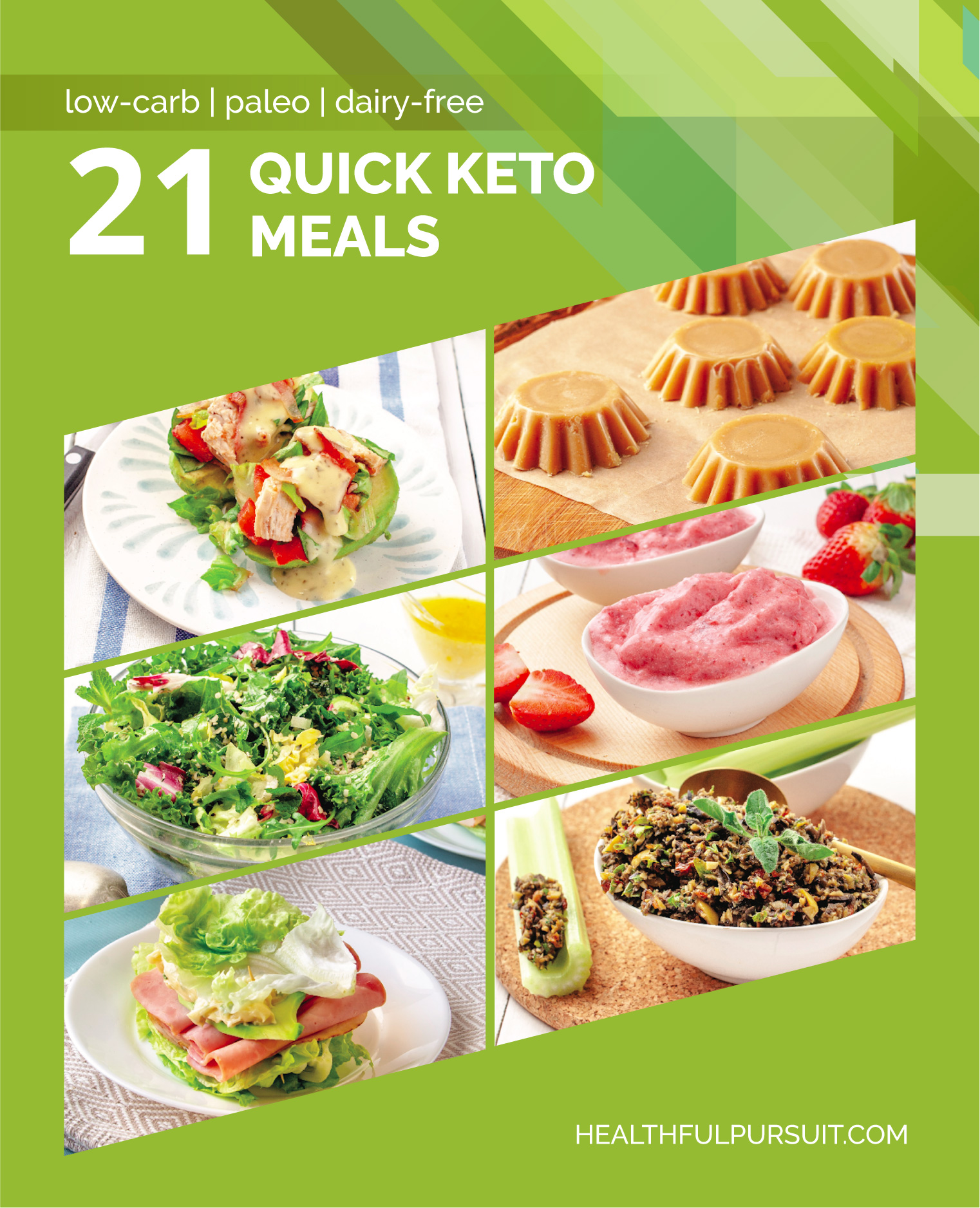 21 Quick Keto Meals #keto #lowcarb #highfat #theketodiet