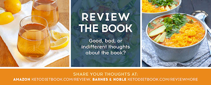 Review The Keto Diet Cookbook!