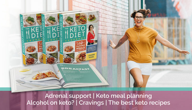 Virtual Book Keto Diet Cookbook Leanne Vogel
