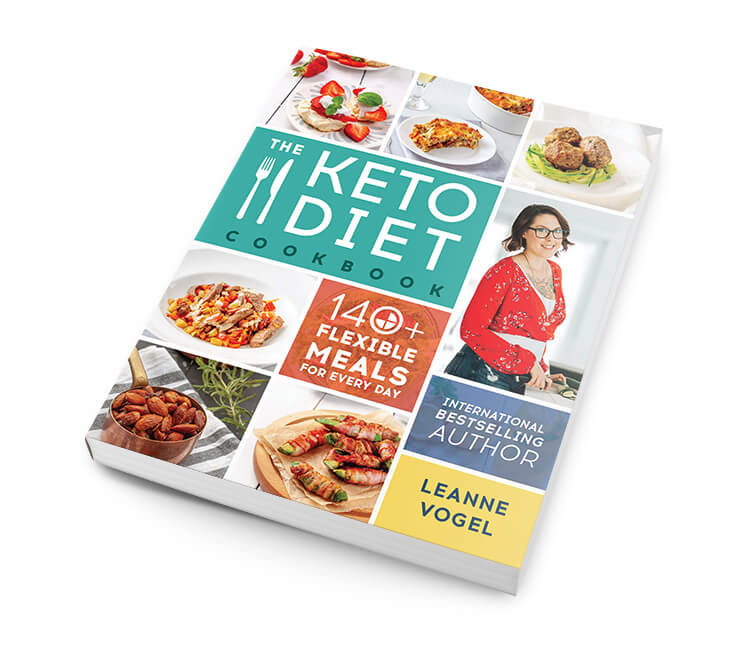 The Keto Diet Cookbook cover