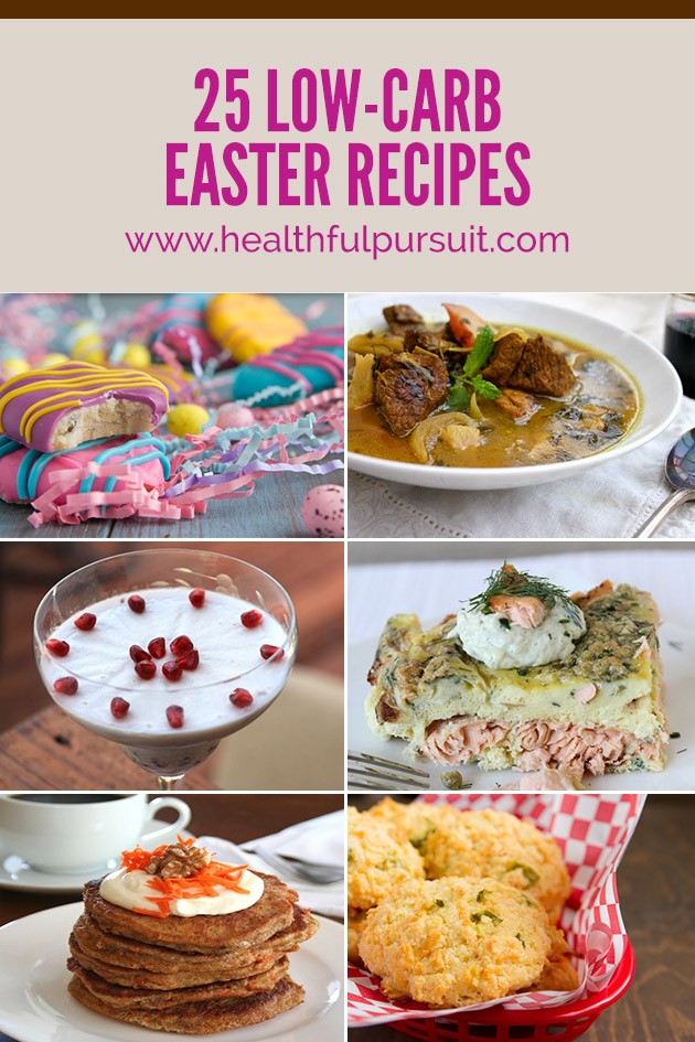 25 Recipes To Celebrate a Keto Easter #Easter #Keto #HighFat #LowCarb #Paleo