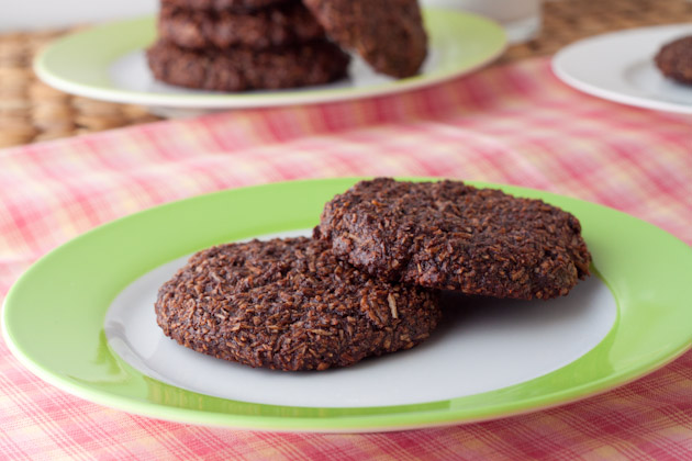5 Ingredient Chewy Chocolate Coconut Cookies (20)