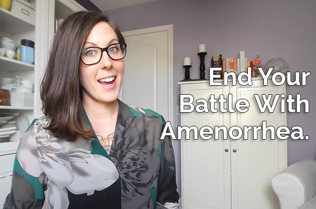 How I ended my battle with amenorrhea (missing period) #amenorrhea #keto #lowcarb #highfat