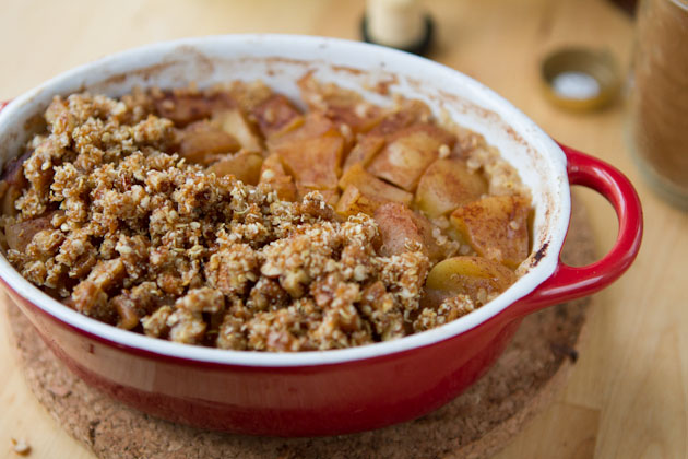 Apple Pie Quinoa Breakfast Casserole