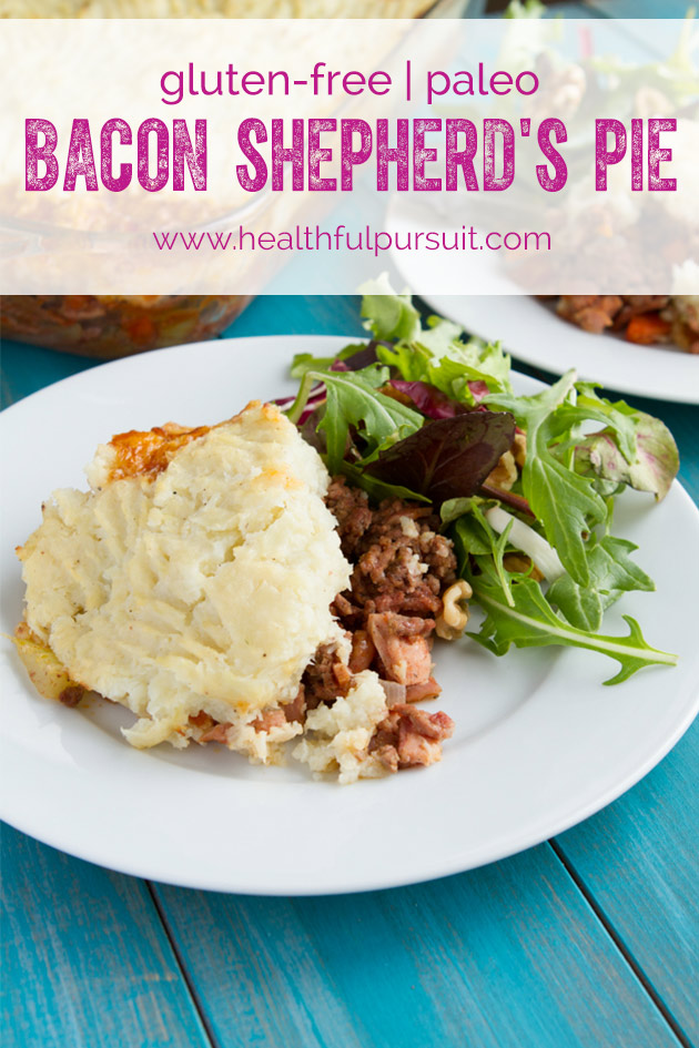Bacon Shepherd's Pie #glutenfree #paleo
