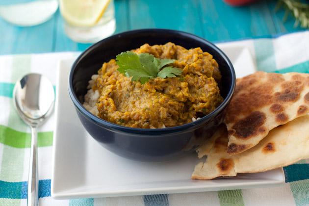Roasted Eggplant Curry Baingan Bharta Healthful Pursuit