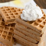 Banana Flour Waffles (nut-free, dairy-free, grain-free + paleo) Preview