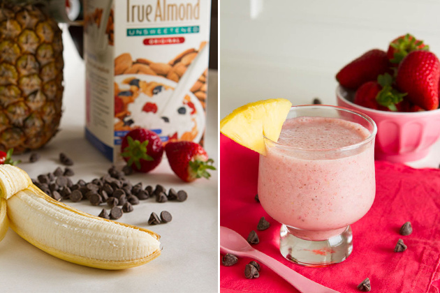 Banana Split Smoothie (vegan, paleo, dairy-free)