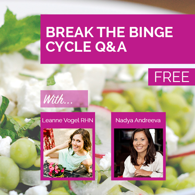 Audio: How to Break the Binge Cycle (and stop overeating)