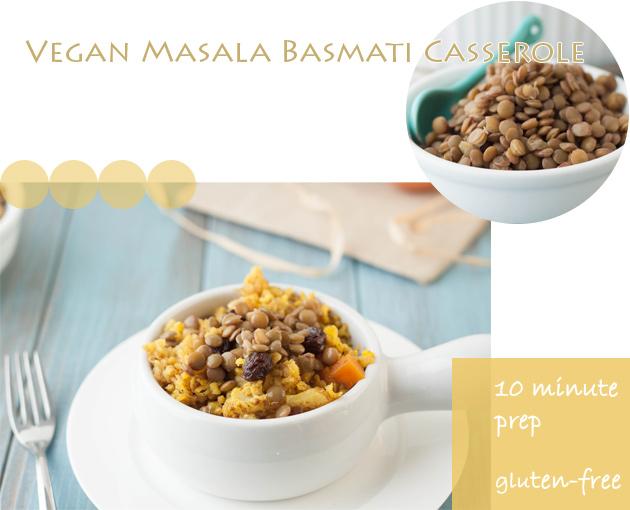 Vegan Masala Basmati Casserole