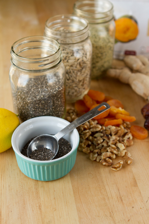 Apricot Ginger Chia Chews