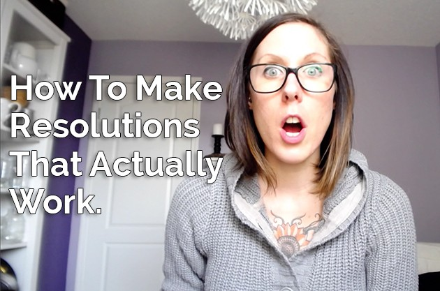 Video: How To Make Resolutions That Actually Work + Enter To Win a Kindle! #NewYear #Resolutions #Health