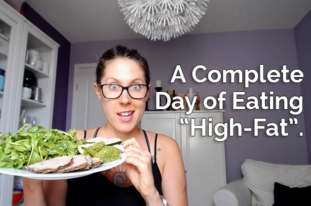 "A Day of Eating ""High-Fat"" (with a Carb-Up) #keto #carbup #hflc #lowcarb #highfat #hflc"