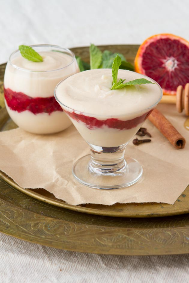 Blood Orange Parfaits