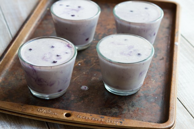 Blueberry White Chocolate Panna Cotta #keto #paleo #sugarfree #fats #hflc #lowcarb