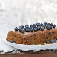Make Cake in a Crockpot! Blueberry Maple Slow Cooker Cake - #glutenfree #dairyfree