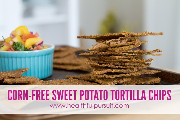 Sweet Potato Tortilla Chips -- The Most Popular Recipes #grainfree #paleo #dairyfree