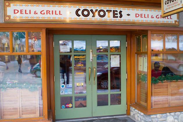Coyotes Southwestern Grill, Banff