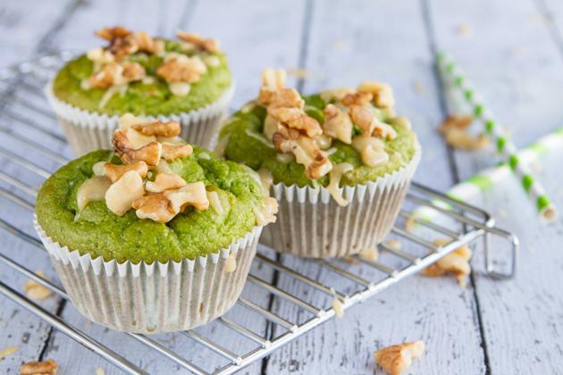 Paleo + Gluten-free Caramel Apple Cupcakes